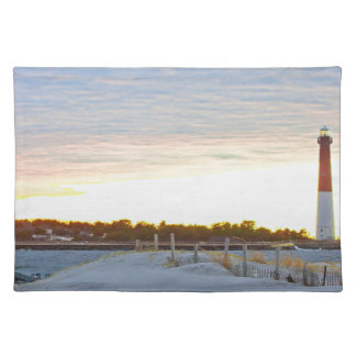 Lighthouse at Sunset Placemat