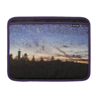 Lighthouse at sunset sleeve for MacBook air