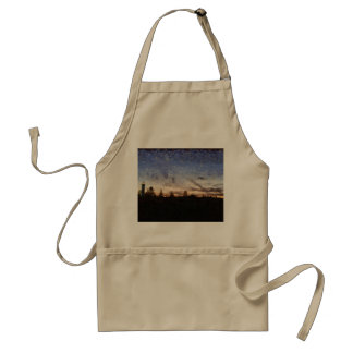 Lighthouse at sunset standard apron