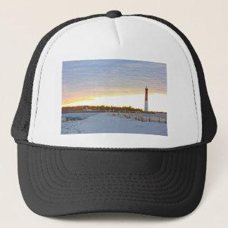 Lighthouse at Sunset Trucker Hat