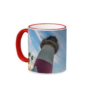 Lighthouse at the Oceanside Harbor Ringer Mug