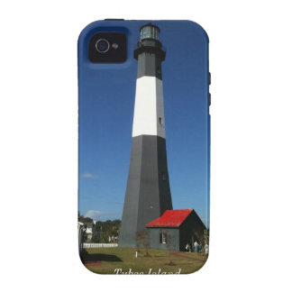 Lighthouse at Tybee Island Case-Mate iPhone 4 Cases