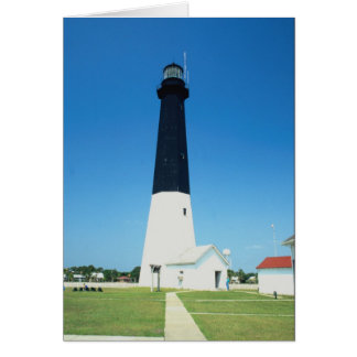 Lighthouse at Tybee Island, Georgia, U.S.A. Greeting Card