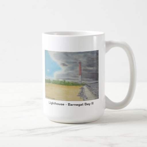 Lighthouse - Barnegat Bay II Mug