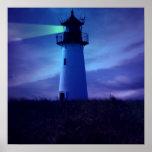 Lighthouse Beacon Poster