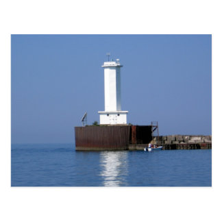 Lighthouse - Buffalo, New York Postcard