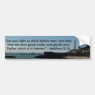 Lighthouse Bumper Sticker
