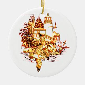 LightHouse Ceramic Ornament