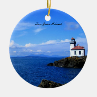 Lighthouse Ceramic Ornament