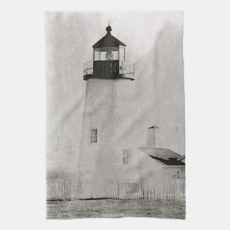 Lighthouse Coast of Maine Kitchen Towel