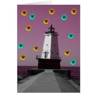 Lighthouse Daze Card
