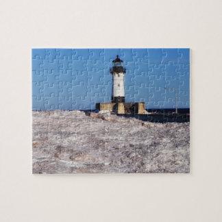 Lighthouse Duluth Minnesota Puzzle