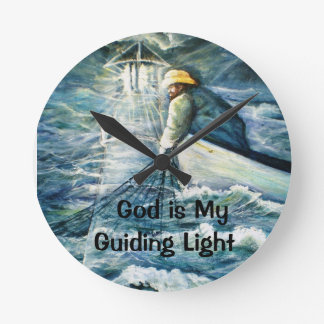 Lighthouse Electronics Skins and Office Products Wallclock