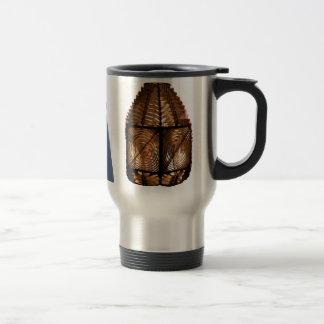Lighthouse & Fresnel Lens Stainless Steel Travel Mug