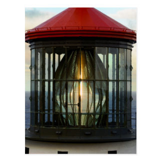 Lighthouse Glass Postcard