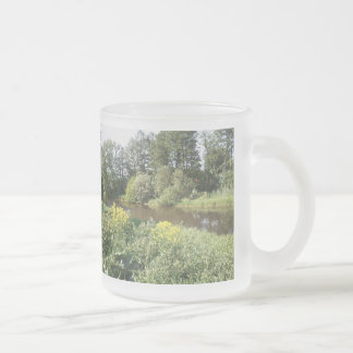 Lighthouse ice tears in June Frosted Glass Mug