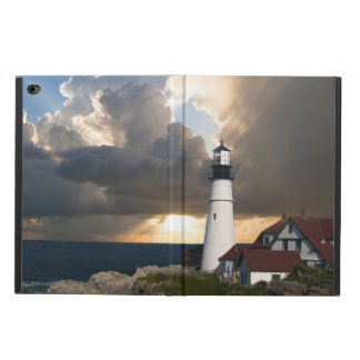 Lighthouse in a Storm Powis iPad Air 2 Case