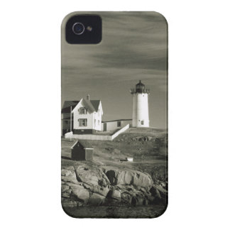 Lighthouse in Maine iPhone 4 Case-Mate Case