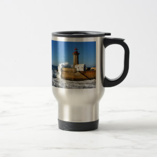 Lighthouse in Porto Mugs