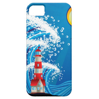 Lighthouse in the Sea 3 Case For The iPhone 5