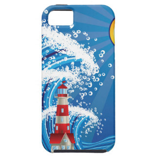 Lighthouse in the Sea 3 iPhone 5 Cover