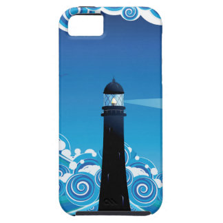 Lighthouse in the Sea 5 Case For The iPhone 5