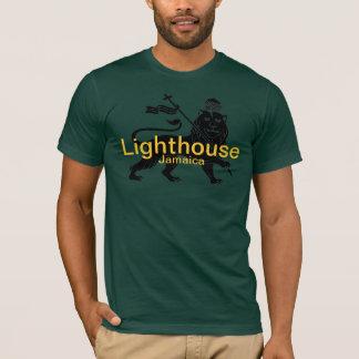 Lighthouse Jamaica surf break shirt. T-Shirt
