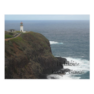 Lighthouse - Kauai, Hawaii Postcard
