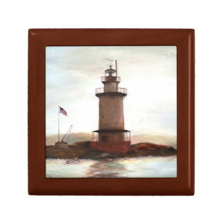 Lighthouse Keepsake Memory Box for Dad