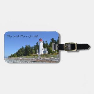 Lighthouse Luggage Tag