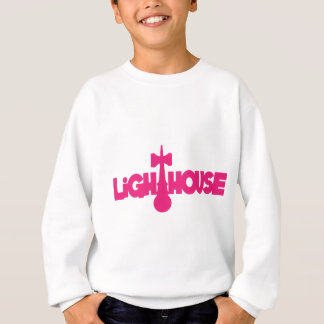 Lighthouse, melon sweatshirt
