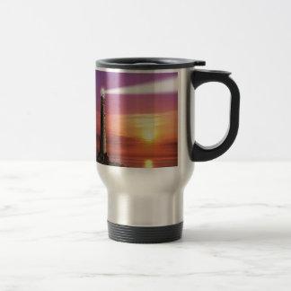 Lighthouse 15 Oz Stainless Steel Travel Mug