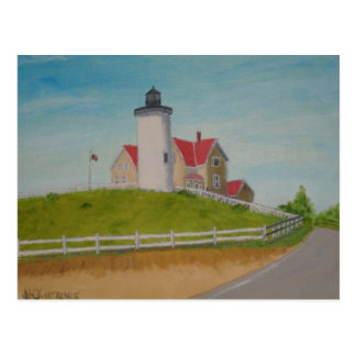 Lighthouse - Nobska Point I Postcard