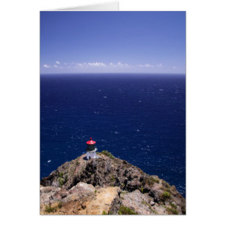 Lighthouse Notecard