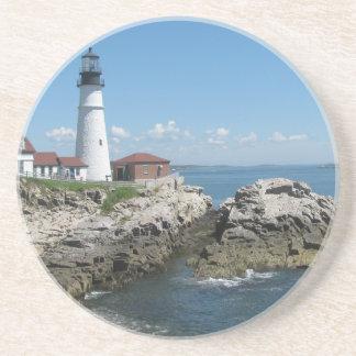 Lighthouse Of Bar Harbor Coaster