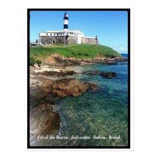 Lighthouse of Bar-Salvador-Bahia-Brazil Postcard