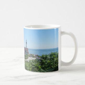 Lighthouse of Maine Basic White Mug