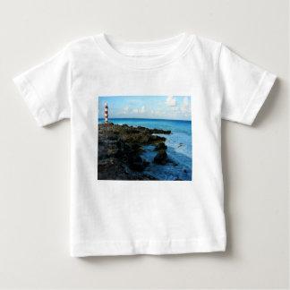 Lighthouse on a Mexican Beach Baby T-Shirt