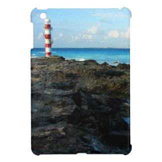 Lighthouse on a Mexican Beach iPad Mini Covers