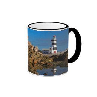 Lighthouse on Cape Recife Ringer Mug