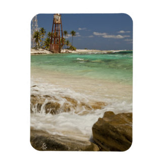 Lighthouse on Half Moon Caye Natural Monument 2 Rectangular Photo Magnet