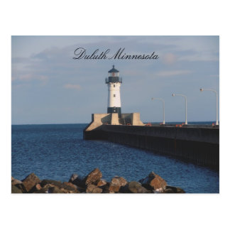 Lighthouse on Lake Superior Postcard