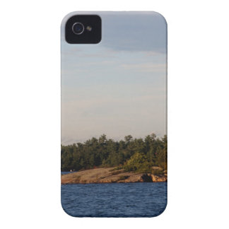 Lighthouse on Shoal Island iPhone 4 Cover