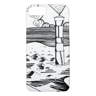 Lighthouse on the Dunes iPhone 8/7 Case