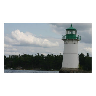 Lighthouse On The Lake Business Card