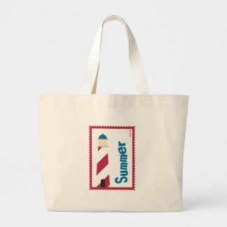 Lighthouse on the Seashore Tote Bags