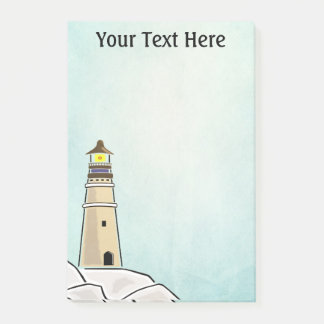 Lighthouse Personalized Post-it Notes