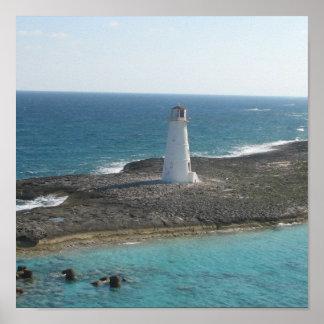 Lighthouse Photo Poster Print