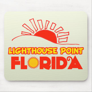 Lighthouse Point, Florida Mouse Pads