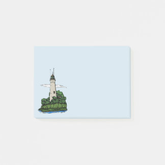 Lighthouse Post-it Notes
